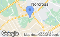 Map of Norcross, GA